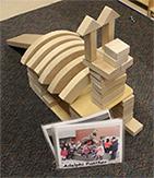 Panther Made of Bricks